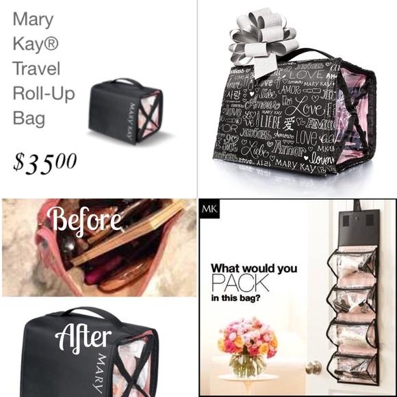 94a29b18c86e Mary Kay roll up bag